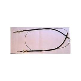 Flex shaft for hand brake - 600 D (1961 --> )