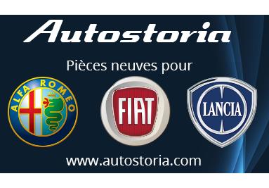 Autostoria.com, le site des pièces détachées pour Fiat et autobianchi modernes